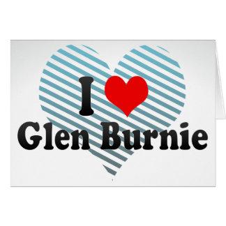 I Love Glen Burnie, United States Card