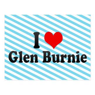 I Love Glen Burnie, United States Postcard