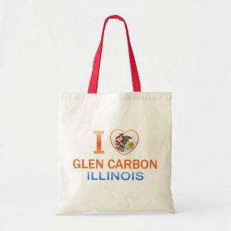 I Love Glen Carbon, IL Budget Tote Bag