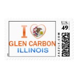 I Love Glen Carbon, IL Postage