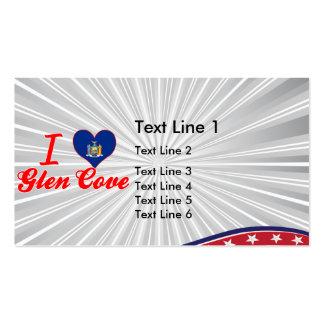 I Love Glen Cove, New York Business Cards