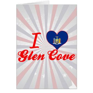 I Love Glen Cove New York Greeting Card