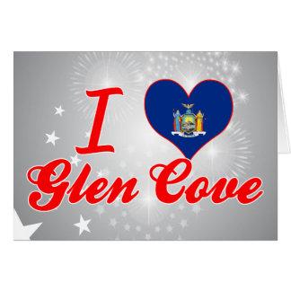 I Love Glen Cove New York Cards