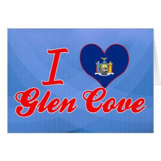 I Love Glen Cove, New York Greeting Card