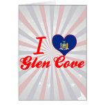 I Love Glen Cove, New York Greeting Cards