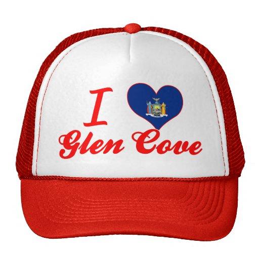 I Love Glen Cove, New York Hat