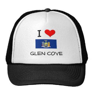 I Love Glen Cove New York Hat