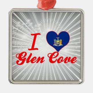 I Love Glen Cove, New York Ornament