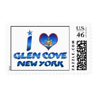 I love Glen Cove New York Postage Stamp