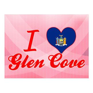 I Love Glen Cove New York Postcard
