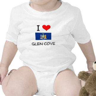 I Love Glen Cove New York Tees