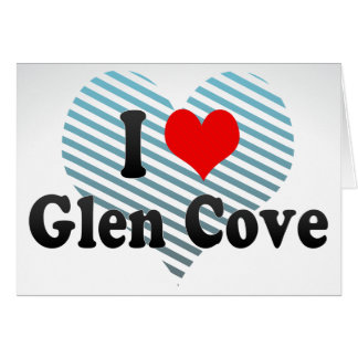 I Love Glen Cove, United States Stationery Note Card