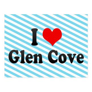 I Love Glen Cove, United States Postcard