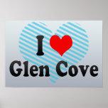 I Love Glen Cove, United States Poster