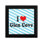 I Love Glen Cove, United States Trinket Box