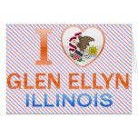 I Love Glen Ellyn, IL Greeting Card