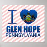 I Love Glen Hope, PA Poster