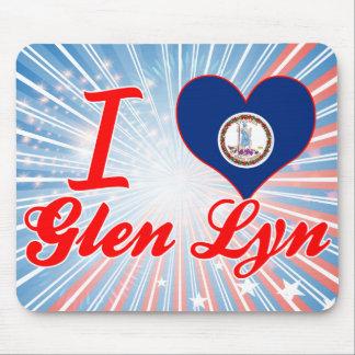 I Love Glen Lyn, Virginia Mouse Pad