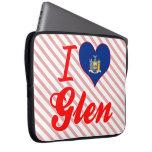 I Love Glen, New York Computer Sleeves