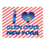 I love Glen Oaks, New York Postcard
