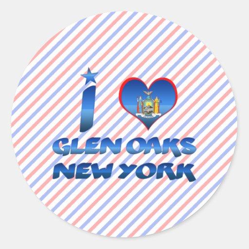 I love Glen Oaks, New York Sticker