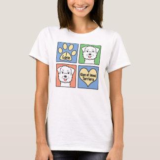 I Love Glen of Imaal Terriers T-Shirt