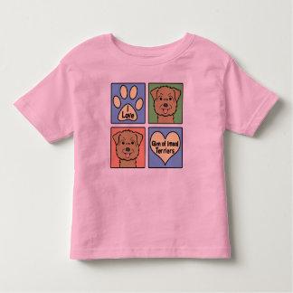 I Love Glen of Imaal Terriers Toddler T-shirt