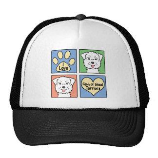 I Love Glen of Imaal Terriers Trucker Hat