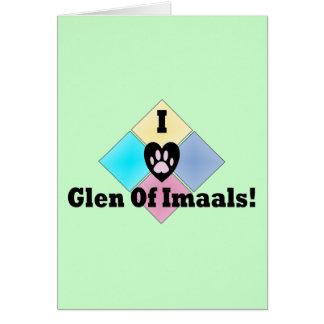 I Love Glen of Imaals Card