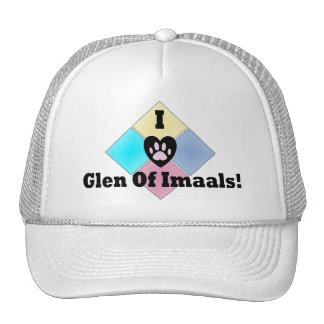 I Love Glen of Imaals Trucker Hat