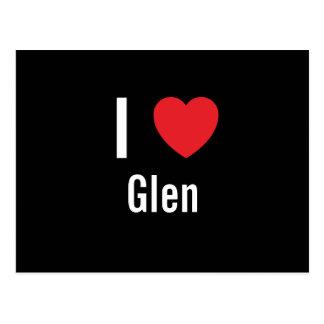 I love Glen Postcard