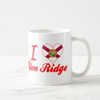 I Love Glen Ridge, Florida Classic White Coffee Mug
