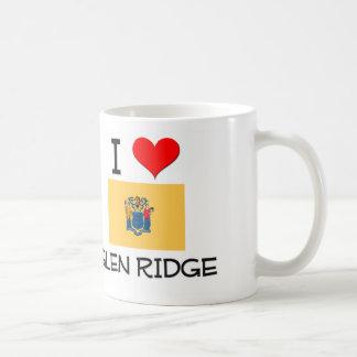 I Love Glen Ridge New Jersey Classic White Coffee Mug
