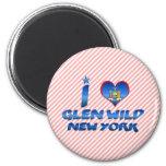 I love Glen Wild, New York Magnets
