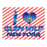 I love Glen Wild, New York Post Cards