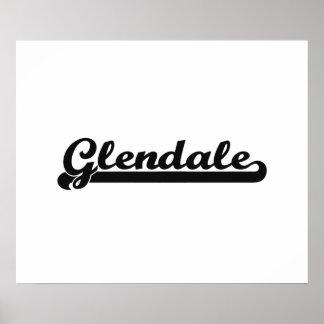 I love Glendale Arizona Classic Design Poster