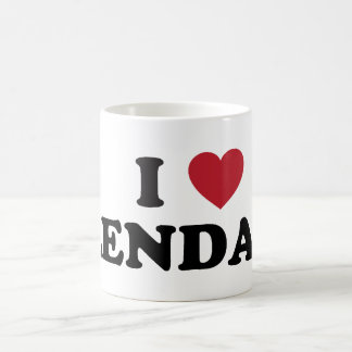 I Love Glendale Arizona Classic White Coffee Mug