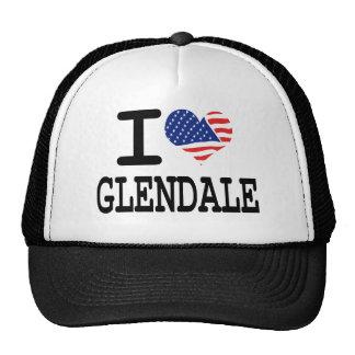 I love Glendale Trucker Hat