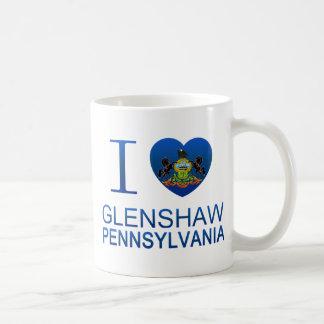 I Love Glenshaw, PA Coffee Mugs