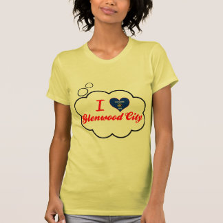 I Love Glenwood City, Wisconsin Tee Shirts