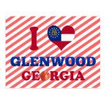 I Love Glenwood, Georgia Postcards