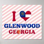 I Love Glenwood, Georgia Poster