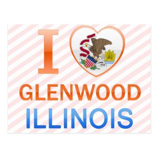 I Love Glenwood, IL Postcard