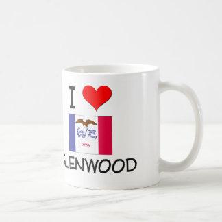 I Love GLENWOOD Iowa Classic White Coffee Mug