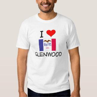 I Love GLENWOOD Iowa T-shirt