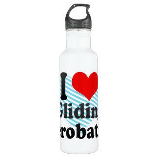 I love Gliding Aerobatics Stainless Steel Water Bottle