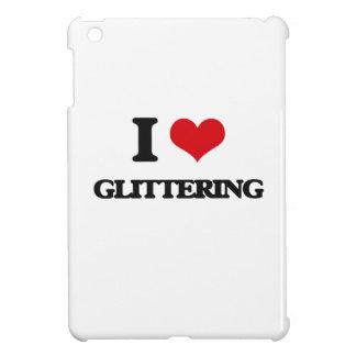 I love Glittering iPad Mini Cover