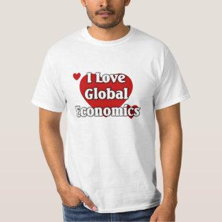 I love Global Economics T-Shirt