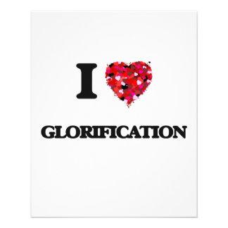 """I Love Glorification 4.5"""" X 5.6"""" Flyer"""