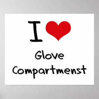 I Love Glove Compartmenst Poster